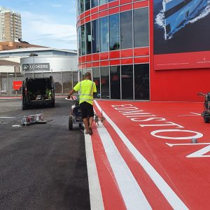 helipad marking roadgrip