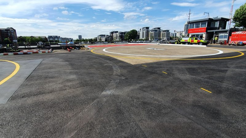 heliport markings