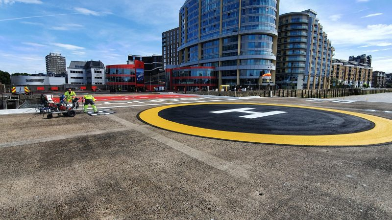 heliport painting