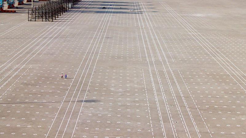 port line marking