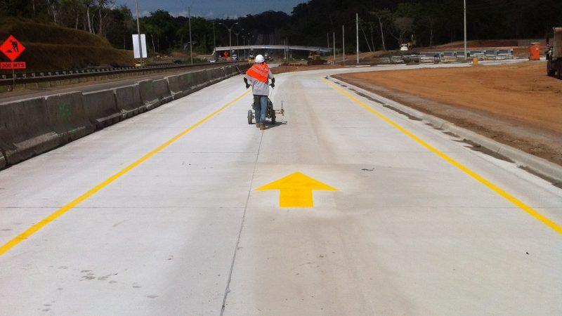 line marking panama