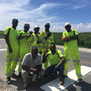 highway marking ghana