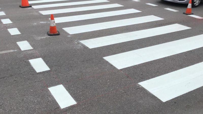 road marking caribbean