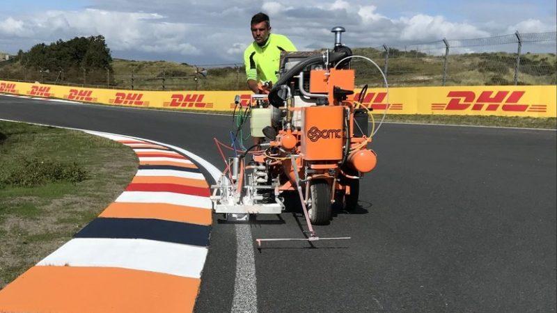 line marking dutch grand prix roadgrip