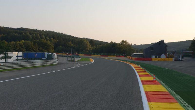line marking race circuit Belgium