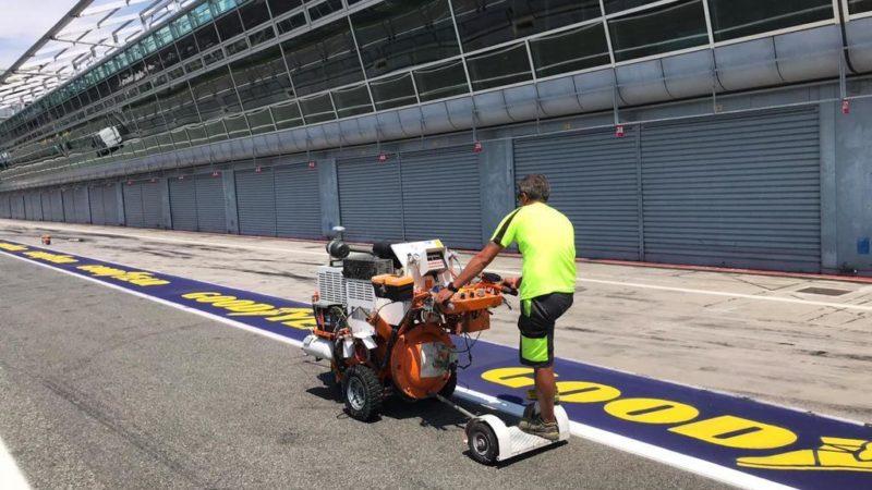 line marking sponsor graphics roadgrip