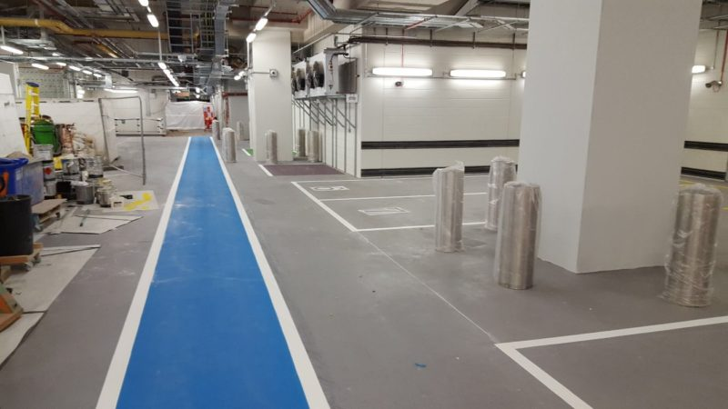 line painting bloomberg