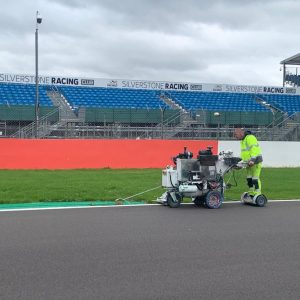 line painting silverstone