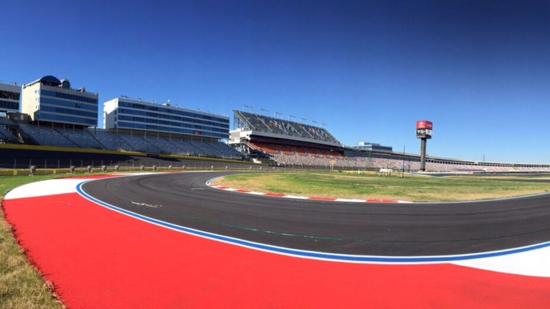 motorsports track marking
