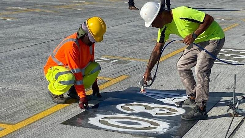 port bay marking roadgrip