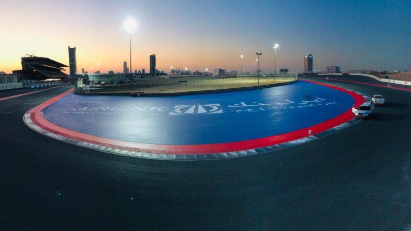 race circuit branding