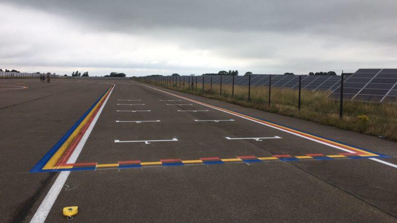 race circuit painting