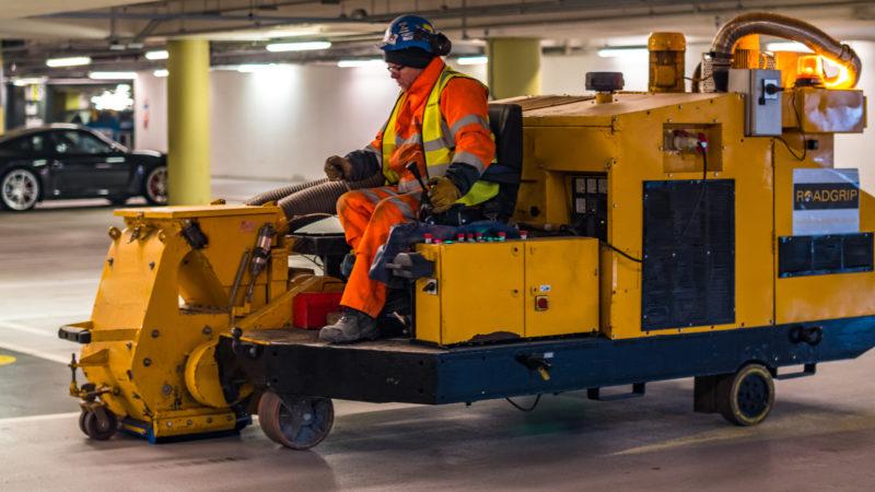 resin flooring vehicle roadgrip