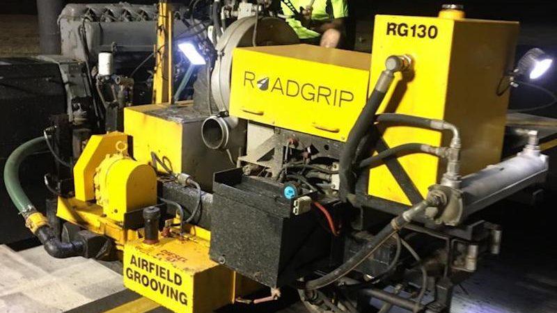 roadgrip airfield grooving