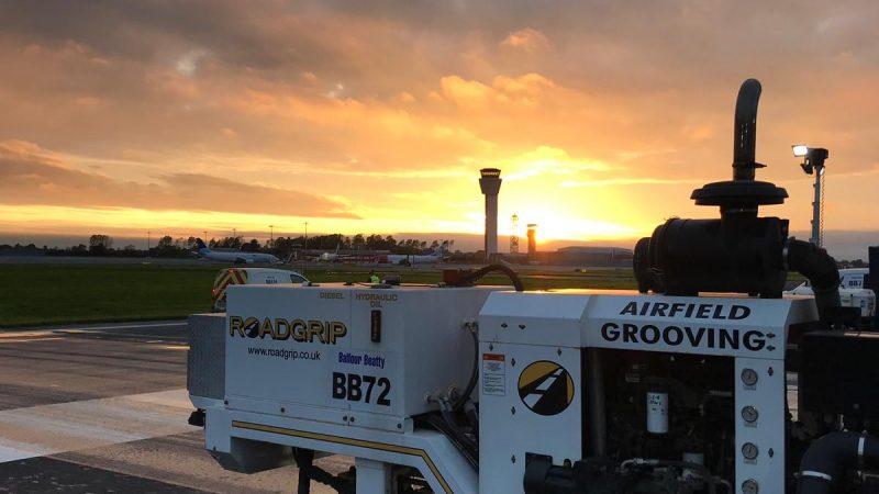 roadgrip airfield grooving dublin