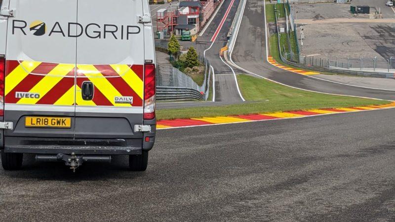 roadgrip circuit painting
