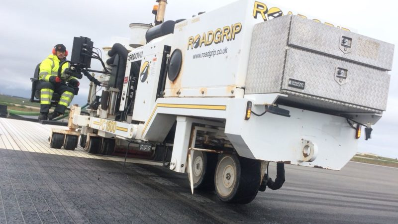 roadgrip grooving machine iceland