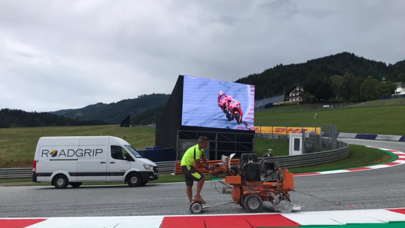 roadgrip motogp track prepration