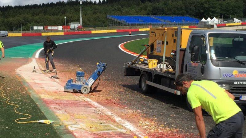 race track preparation
