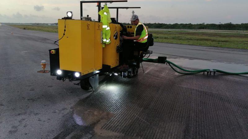 roadgrip runway grooving cancun