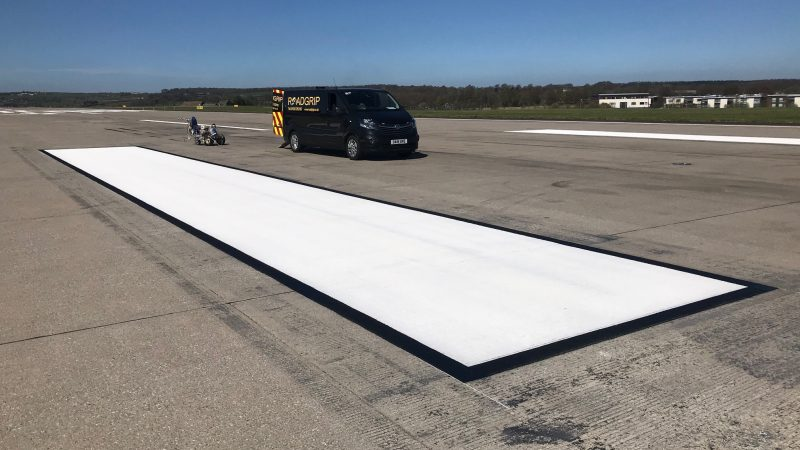 roadgrip runway line marking