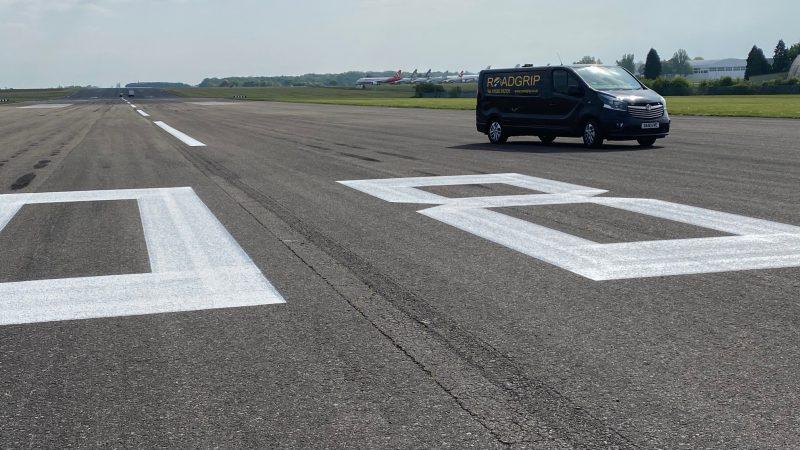 roadgrip runway marking cotswold airport