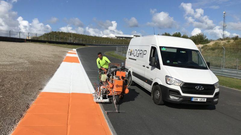 roadgrip track marking zandvoort F1