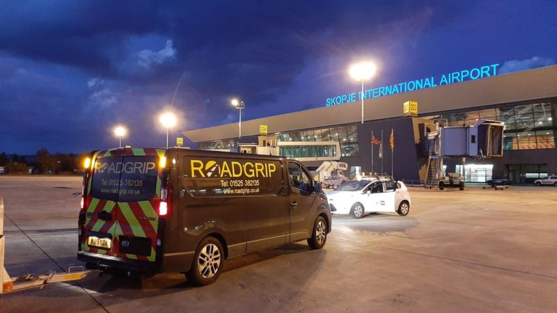 roadgrip van airfield services