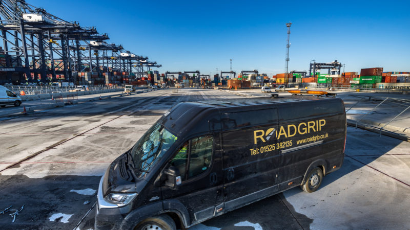 roadgrip van felixstowe
