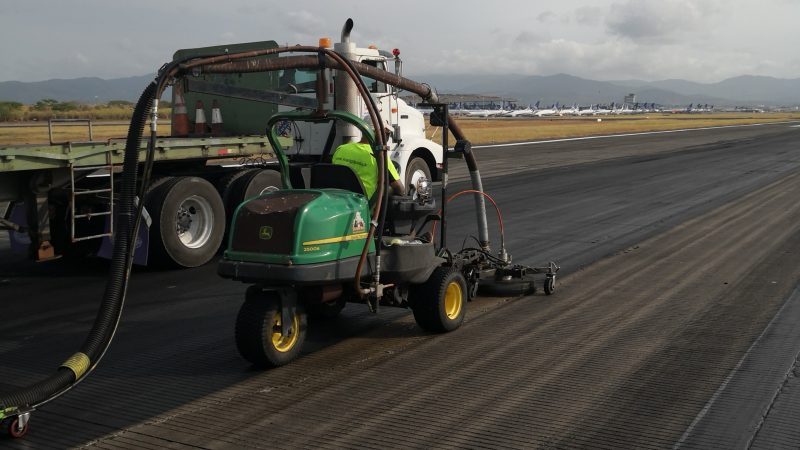 rubber removal tocumen airport