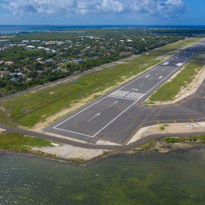 runway line marking cayman