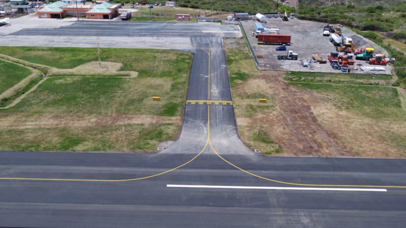 runway line marking montserrat