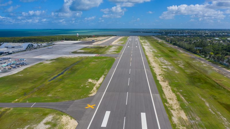 runway markings cayman