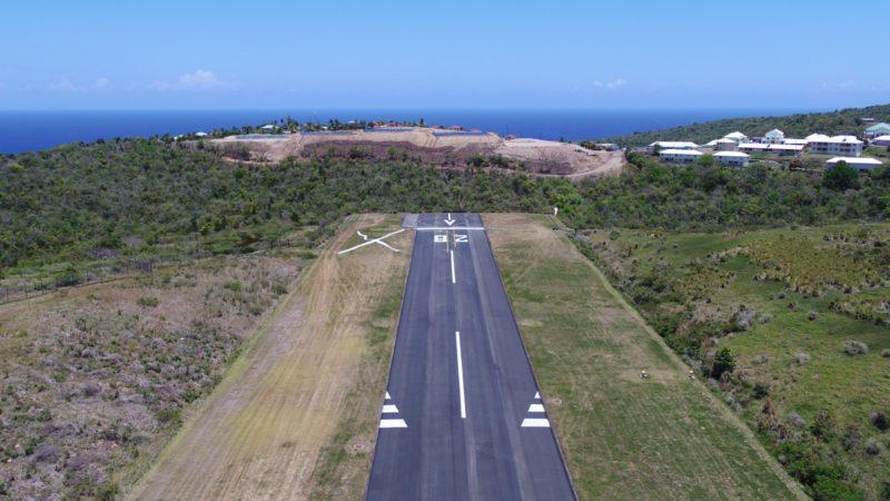 runway markings montserrat