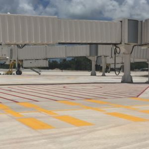 runway painting cancun