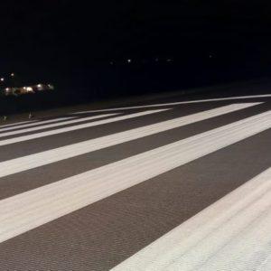 runway painting grooving roadgrip