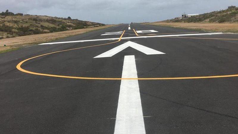 runway painting roadgrip caribbean