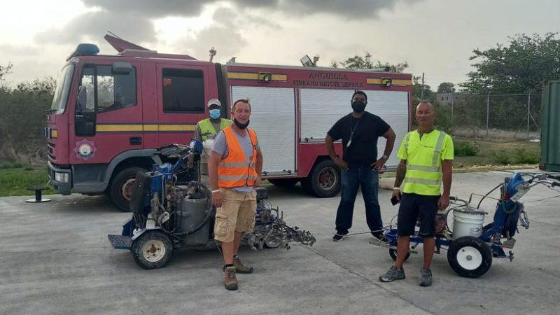runway refurbishment anguilla