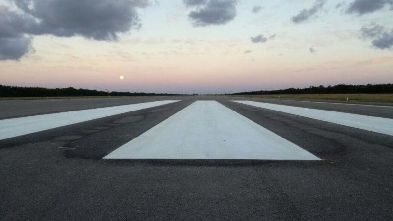 runway remarking