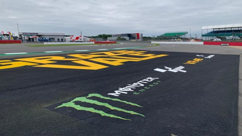 silverstone circuit graphics by roadgrip