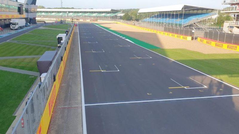 silverstone track painting roadgrip