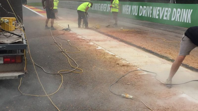 spa circuit painting