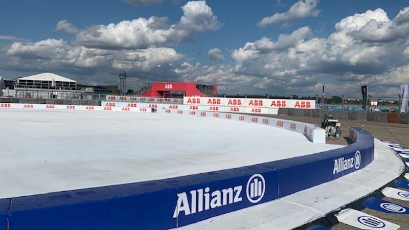 street circuit brand painting Allianz