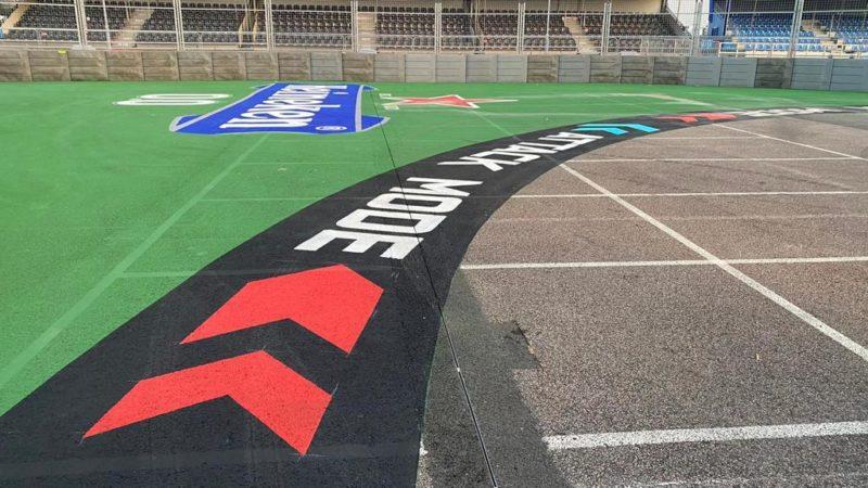 street circuit sponsor painting roadgrip