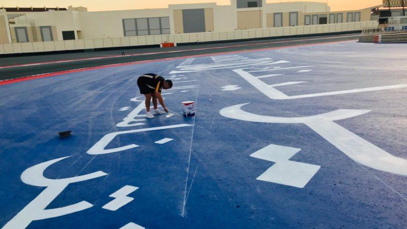 surface branding painting