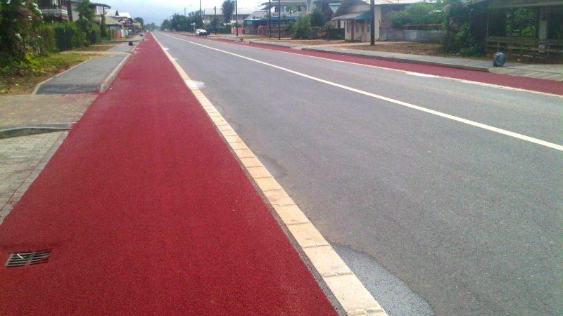 road marking suriname