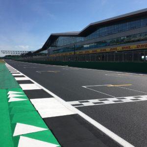 track marking Silverstone