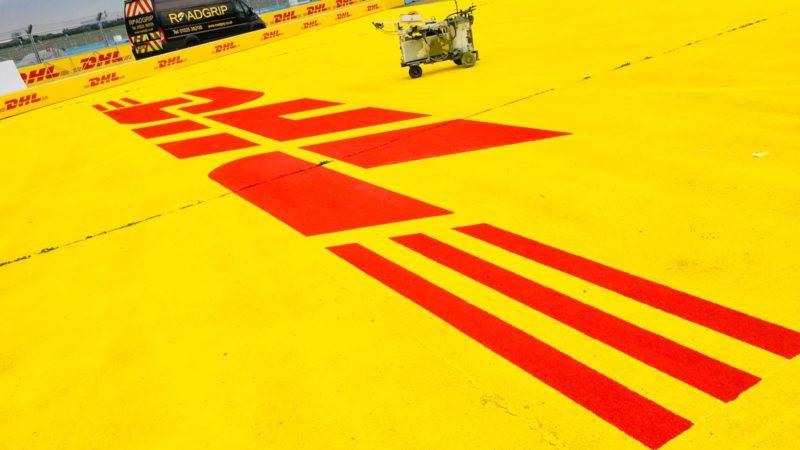 track marking berlin formula e