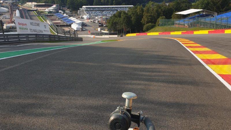 track painting F1 Belgium