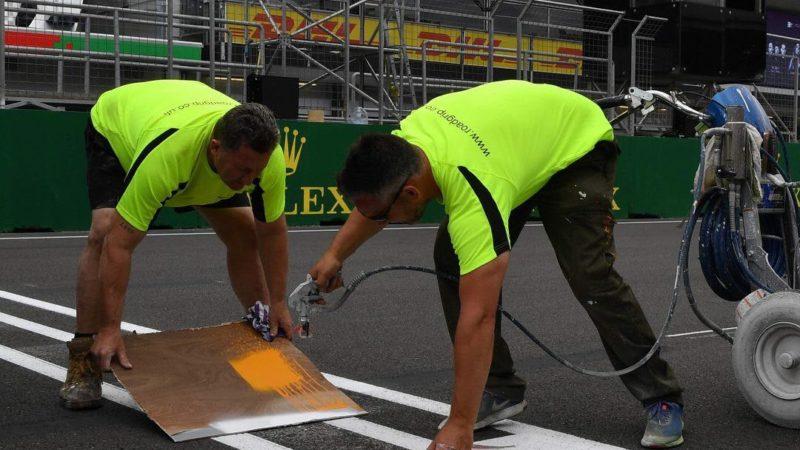 track painting baku circuit